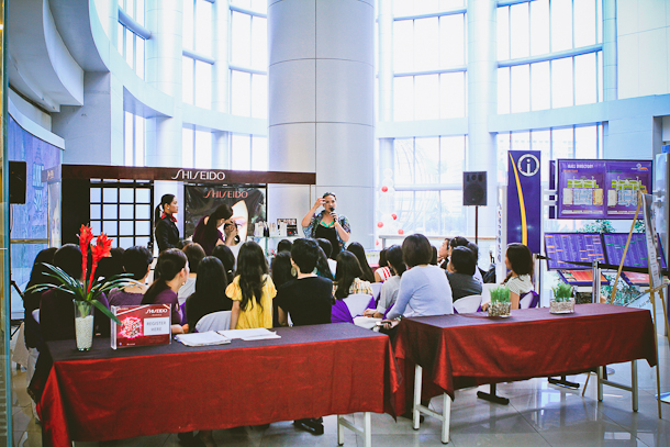 Shiseido Workshop - Marionnaud - SM Mall of Asia -