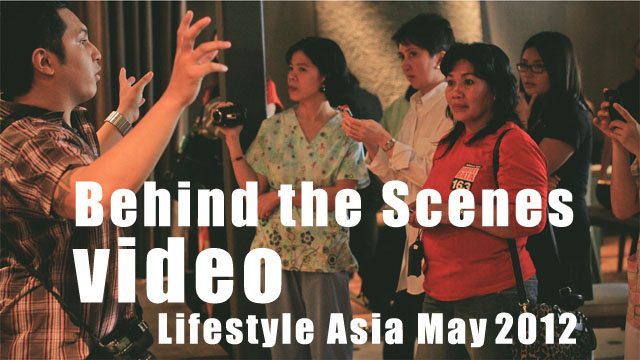 Behind the Scenes Video - Lifestyle Asia May 2012 Issue - Mothers for Others