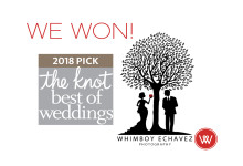 PRESS RELEASE: Whimboy Echavez Photography NAMED WINNER IN THE KNOT BEST OF WEDDINGS 2018
